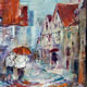 Woking Art Gallery 35 - Rainy Street Scene