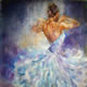 Ballet Dancer 45 - Gallery of Dance Paintings by Woking Surrey Artist Sera Knight