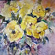 Woking Art Gallery - Flowers Collection - Painting by Horsell Woking Surrey Artist Sera Knight